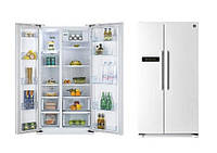 Холодильник DAEWOO FRN-X22B3CW Side by Side полный NOFROST лёгкое БУ