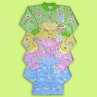 Детские байковые кофты для новорожденных
