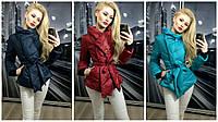 Женская модная курточка  на синтепоне !