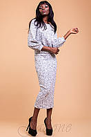Трикотажный женский костюм  Колинс меланж  42-48 размеры Jadone
