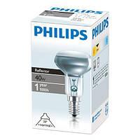 Лампочка зеркальная Philips R50 40 Вт E14