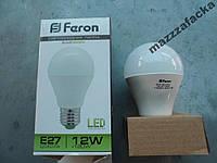 Мощная LED лампа 12w FERON LB-93 30LED1100Lm 4000K