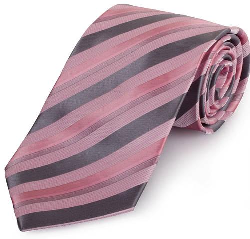 Симпатичный мужской широкий галстук SCHONAU & HOUCKEN (ШЕНАУ & ХОЙКЕН) FAREPS-70 розовый