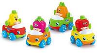Машинка Тутти-Фрутти Huile Toys (комплект из 4 шт) 356A-X