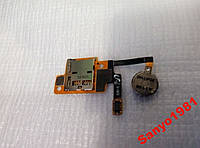 Лоток карты памяти с вибро для N5100 на шлейфе