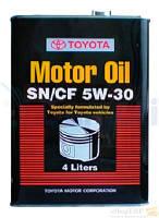 Масло моторное TOYOTA Motor Oil 5W-30 0888083322