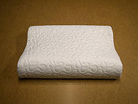 Подушка ортопедическая Memory foam с валиком под шею