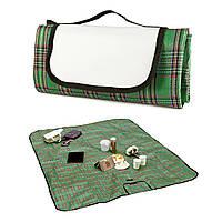 Плед коврик для пикника Шотландец зеленый