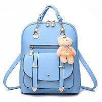 Рюкзак женский Candy Bear light blue
