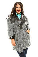 Пальто женское полубатал кашемир