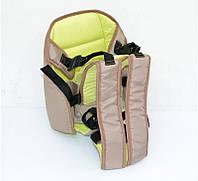 Гр Рюкзак-кенгуру №7 (1) сидя,цвет капучино.Предназначен для детей с трехмесячного возраста