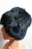 Зимняя женская шапка-ушанка 2230/2