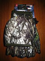 Перчатки - варежки, рыбалка/охота, Puissant Outdoor Gloves (Mossy Oak Break Up)