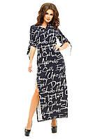 Платье женское рубашка текст, фото 1