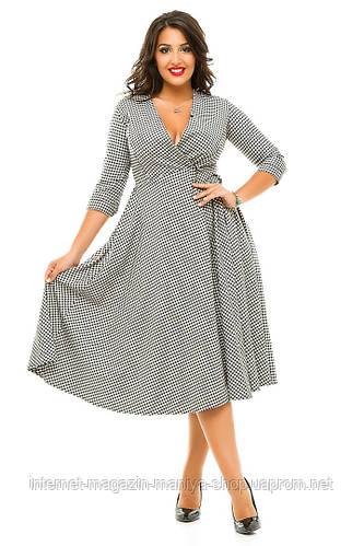 Платье женское полубатал с запахом