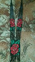 Жіночий гердан з червоним маком (Женский гердан с красным маком) ANG-0008