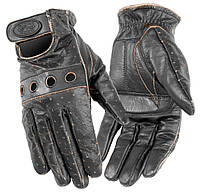 Мотоперчатки женские River Road Outlaw кожа черный (S)