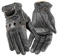 Мотоперчатки женские River Road Outlaw кожа черный (M)