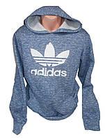 Толстовка мужская на флисе с капюшоном Adidas, фото 1