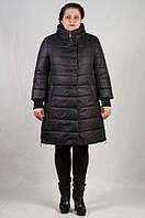 Приталенная весенняя женская куртка - полупальто (54-62)