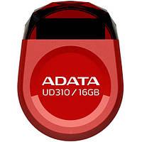 Флешка A-Data 16 GB UD310 (Красный) для виндовс мак 16 гб универсальная usb 2,0