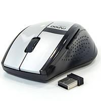 Мышь беспроводная Usb RAPOO 3200 для компьютера ноутбука юсб (Серый)