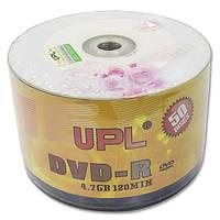 Диск DVD R UPL 4 7 GB 16 x bulk Rose для видео