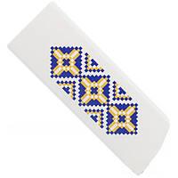 Флешка GOODRAM 16GB CLICK UKRANIAN (Белый) флеш память сандиск кингстон 16 гб
