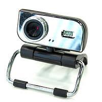 Веб камера CARPO М18 для скайпа с микрофоном Серебро