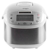 Мультиварка ERGO EFC-5010 (Серебро) кухонная пароварка выпечка для овощей от сети