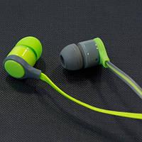 Наушники AIYALE A35 (Зеленый) ваккумные для самсунга айфона 3,5 iphone samsung