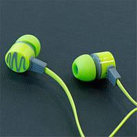 Гарнитура с микрофоном AIYALE A24 (Зеленый) наушники вакуумные для самсунга айфона iphone samsung 3,5