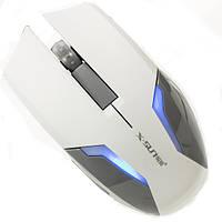 Мышь компьютерная игровая X - SUN Harricane X 380 проводная мышка для ноутбука (Белый)
