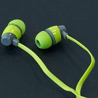 Гарнитура AIYALE A39 (Зеленый) ваккумные наушники для самсунга и айфона 3,5 iphone samsung
