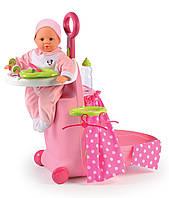 Набор для ухода за куклой Раскладной чемодан Minnie Smoby