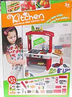 Кухня игровая детская (свет, звук, посуда)