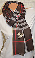 Стильный палантин шарф платок Вurberry коричневый