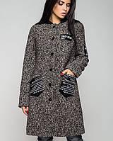Пальто на слимтексе   Нью-Йорк зима leo