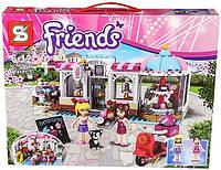 """Детский конструктор Friends Sy 579 """"Кондитерская"""" (аналог LEGO Friends 41119), 474 дет"""