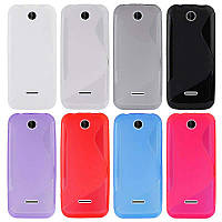 Силиконовый чехол Duotone для Nokia 225 (8 цветов)