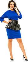 Платье женское полубатал поясэкокожа, фото 1