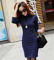 Женское Платье  под горло  миди 7 цветов розница 280грн опт 230