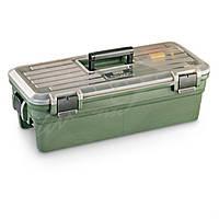 Кейс для чистки MTM Shooting Range Box для чистки и уходом за оружием ц:тёмно-зелёный