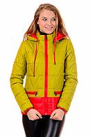Молодежная женская демисезонная куртка в 6-ти цветах 01.149