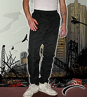 Спортивные штаны мужские плащевка на подкладке норма