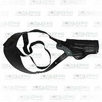 Кобура для пистолета Beretta М 92, оперативная, кожаная,возможность поясного ношения.