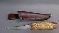 НОЖ ФИЛЕЙНЫЙ 2249 BLP, нож рыбацкий с бересты
