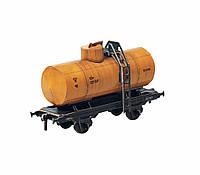 Картонная модель Двухосная цистерна 25 м3 Бензин 386-1 УмБум