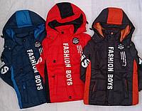 B 60203 Курточка демисезонная для мальчика Fashion Boys
