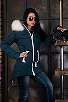 Зимняя куртка ANGELIKA 42-52 размеры ( цвет мурена )